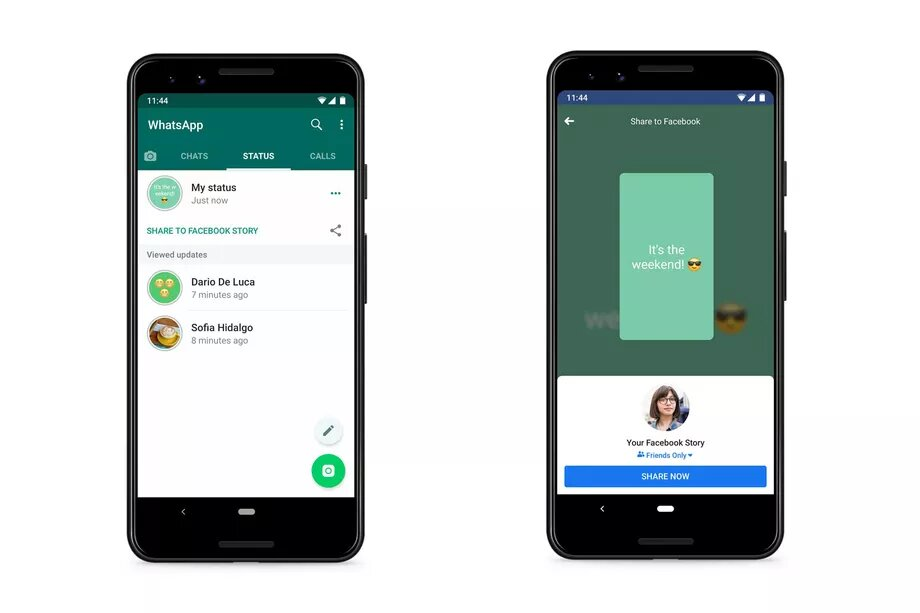 Whatsapp Status To Be Shared To Facebook And Other Apps